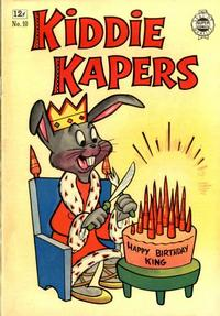 Cover Thumbnail for Kiddie Kapers (I. W. Publishing; Super Comics, 1963 series) #10