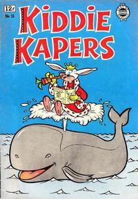 Cover Thumbnail for Kiddie Kapers (I. W. Publishing; Super Comics, 1963 series) #15