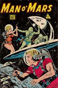 Cover Thumbnail for Man O' Mars (I. W. Publishing; Super Comics, 1958 series) #1