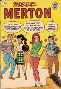 Cover Thumbnail for Meet Merton (I. W. Publishing; Super Comics, 1958 series) #11