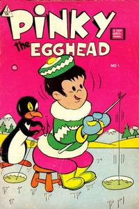 Cover Thumbnail for Pinky the Egghead (I. W. Publishing; Super Comics, 1958 series) #1
