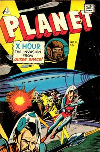 Cover Thumbnail for Planet Comics (I. W. Publishing; Super Comics, 1958 series) #8