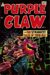 Cover Thumbnail for Purple Claw (I. W. Publishing; Super Comics, 1958 series) #8