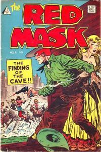 Cover Thumbnail for Red Mask (I. W. Publishing; Super Comics, 1958 series) #8