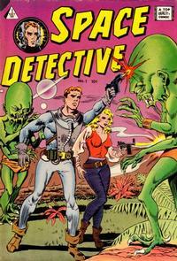 Cover Thumbnail for Space Detective (I. W. Publishing; Super Comics, 1958 series) #1