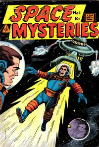 Cover Thumbnail for Space Mysteries (I. W. Publishing; Super Comics, 1958 series) #1