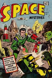 Cover Thumbnail for Space Mysteries (I. W. Publishing; Super Comics, 1958 series) #9