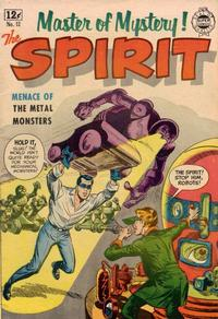 Cover Thumbnail for Spirit (I. W. Publishing; Super Comics, 1963 series) #12