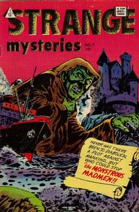 Cover Thumbnail for Strange Mysteries (I. W. Publishing; Super Comics, 1958 series) #9