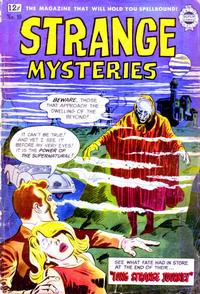 Cover Thumbnail for Strange Mysteries (I. W. Publishing; Super Comics, 1958 series) #10