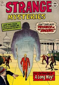 Cover Thumbnail for Strange Mysteries (I. W. Publishing; Super Comics, 1958 series) #11