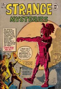 Cover Thumbnail for Strange Mysteries (I. W. Publishing; Super Comics, 1958 series) #15