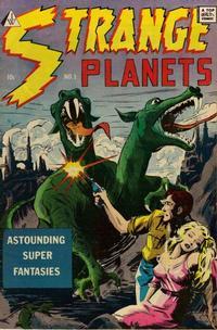 Cover Thumbnail for Strange Planets (I. W. Publishing; Super Comics, 1958 series) #1