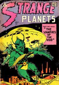 Cover Thumbnail for Strange Planets (I. W. Publishing; Super Comics, 1958 series) #9