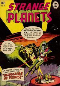 Cover Thumbnail for Strange Planets (I. W. Publishing; Super Comics, 1958 series) #10