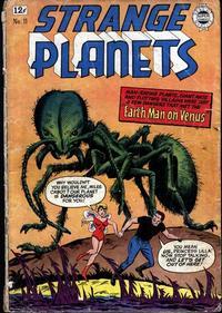 Cover Thumbnail for Strange Planets (I. W. Publishing; Super Comics, 1958 series) #11