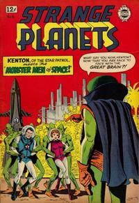 Cover Thumbnail for Strange Planets (I. W. Publishing; Super Comics, 1958 series) #16