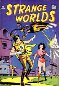 Cover Thumbnail for Strange Worlds (I. W. Publishing; Super Comics, 1958 series) #5