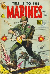 Cover Thumbnail for Tell It to the Marines (I. W. Publishing; Super Comics, 1958 series) #1