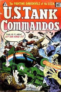 Cover Thumbnail for U.S. Tank Commandos (I. W. Publishing; Super Comics, 1958 series) #8