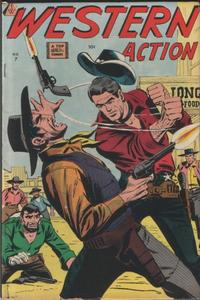 Cover Thumbnail for Western Action (I. W. Publishing; Super Comics, 1958 series) #7