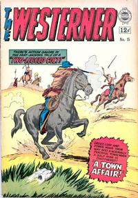 Cover Thumbnail for Westerner (I. W. Publishing; Super Comics, 1964 series) #15