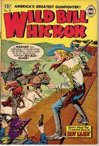 Cover Thumbnail for Wild Bill Hickok (I. W. Publishing; Super Comics, 1958 series) #11