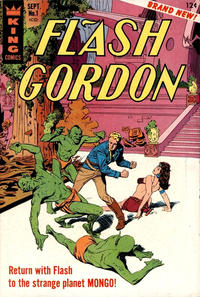 Cover Thumbnail for Flash Gordon (King Features, 1966 series) #1