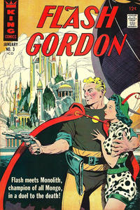 Cover Thumbnail for Flash Gordon (King Features, 1966 series) #3