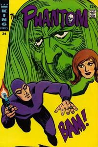 Cover Thumbnail for The Phantom (King Features, 1966 series) #24