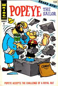Cover Thumbnail for Popeye (King Features, 1966 series) #81