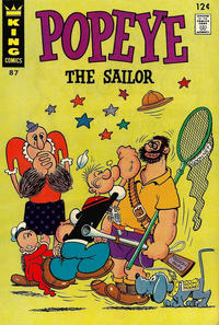 Cover Thumbnail for Popeye (King Features, 1966 series) #87