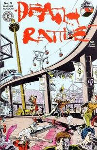 Cover Thumbnail for Death Rattle (Kitchen Sink Press, 1985 series) #9