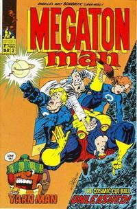 Cover Thumbnail for Megaton Man (Kitchen Sink Press, 1984 series) #2