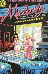 Cover Thumbnail for Melody (Kitchen Sink Press, 1988 series) #3