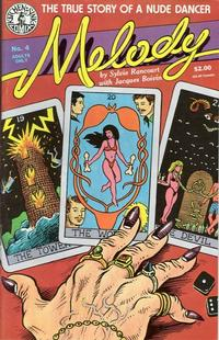 Cover Thumbnail for Melody (Kitchen Sink Press, 1988 series) #4