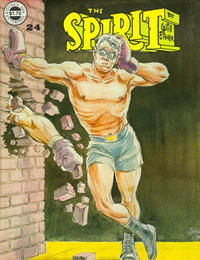 Cover Thumbnail for The Spirit (Kitchen Sink Press, 1977 series) #24