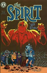 Cover Thumbnail for The Spirit (Kitchen Sink Press, 1983 series) #21