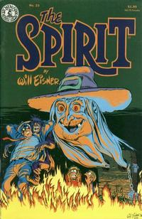 Cover Thumbnail for The Spirit (Kitchen Sink Press, 1983 series) #23
