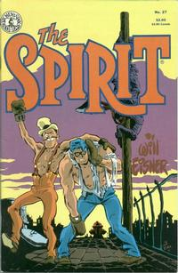 Cover Thumbnail for The Spirit (Kitchen Sink Press, 1983 series) #27