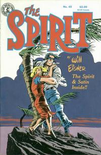 Cover Thumbnail for The Spirit (Kitchen Sink Press, 1983 series) #45