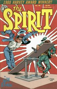 Cover Thumbnail for The Spirit (Kitchen Sink Press, 1983 series) #49