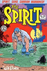 Cover Thumbnail for The Spirit (Kitchen Sink Press, 1983 series) #55