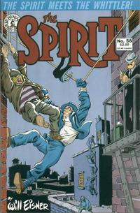 Cover Thumbnail for The Spirit (Kitchen Sink Press, 1983 series) #58