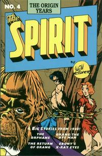 Cover Thumbnail for Spirit: The Origin Years (Kitchen Sink Press, 1992 series) #4