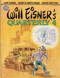 Cover Thumbnail for Will Eisner's Quarterly (Kitchen Sink Press, 1983 series) #4