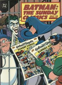 Cover Thumbnail for Batman: The Sunday Classics, 1943-46 (Kitchen Sink Press; DC, 1991 series)