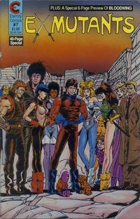 Cover Thumbnail for Ex-Mutants (Malibu, 1987 series) #7