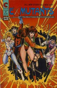 Cover Thumbnail for Ex-Mutants The Shattered Earth Chronicles (Malibu, 1988 series) #1