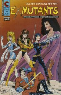 Cover Thumbnail for Ex-Mutants The Shattered Earth Chronicles (Malibu, 1988 series) #2